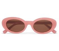 Mckinley Sonnenbrille Mit Ovalem Rahmen Aus Azetat - Pink