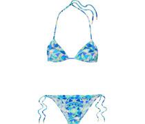 Arenal Bedruckter Triangel-bikini -