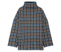 Oversized-pullover Aus Jacquard-strick Aus Einer Wollmischung -