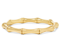 Kleines Armband Aus 18 Karat Gold In Bambusoptik