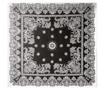 Bedrucktes Tuch aus Seiden-Charmeuse