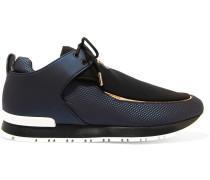 Doda Sneakers aus Leder und Neopren