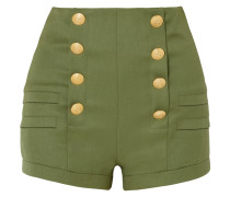Shorts Aus Grain De Poudre Aus Wolle -