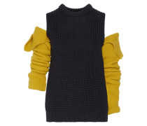 Wollpullover Mit Cut-outs -