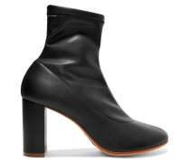 Sock Boots Aus Stretch-leder -