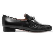 Rockstud Loafers Aus Leder -