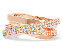 Technical Berbère Ring Aus 18 Karat  Mit Diamanten