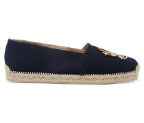 Lougalia Espadrilles Aus Canvas Mit Applikation -