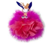 Wizzy Schlüsselanhänger Aus Federn - Pink