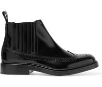 Chelsea Boots aus Glanzleder