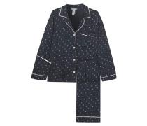 Bedruckter Pyjama aus Stretch-jersey -