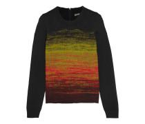 Pullover aus Wolle mit Farbverlauf