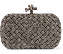 The Knot Intrecciato-Clutch aus Messing