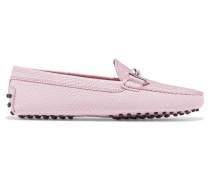 Gommino Verzierte Loafers Aus Leder Mit Eidechseneffekt -