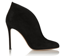 Vamp 100 Ankle Boots Aus Veloursleder -