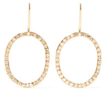 Mini Again Ohrringe aus 18 Karat  mit Diamanten