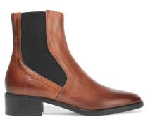 Carrington Chelsea Boots Aus Brüniertem Leder - Braun