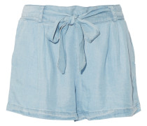 Shorts Aus Tencel®-chambray - Heller Denim