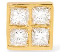 Pixel Ohrring Aus 18 Karat Gold Mit Diamanten