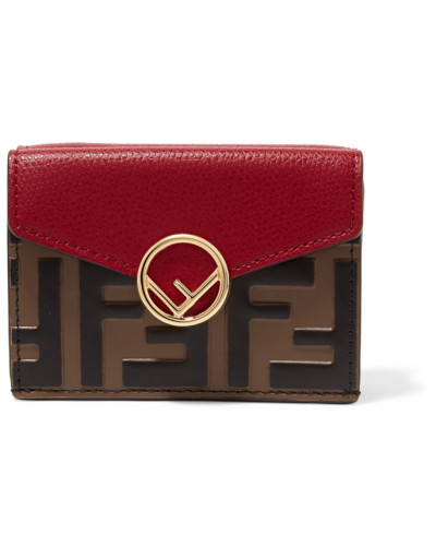 Verziertes Portemonnaie aus Geprägtem Leder
