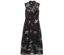 Verziertes Kleid Aus Besticktem Seidenorganza -