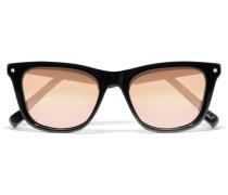 Campbell Verspiegelte Sonnenbrille Im Wayfarer-stil Aus Azetat - Schwarz