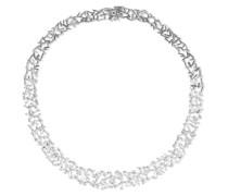 Kette aus 18 Karat Weiß mit Diamanten