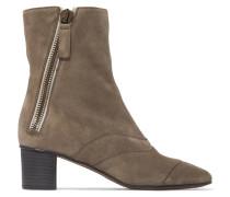 Lexie Ankle Boots Aus Veloursleder -