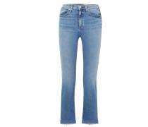 Hana Verkürzte, Hoch Sitzende Bootcut-jeans -