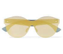 Mona Tuttolente Verspiegelte Sonnenbrille Mit Cat-eye-gläsern Aus Azetat -