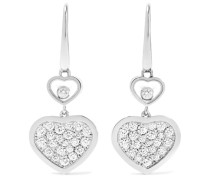 Happy Hearts Ohrringe Aus 18 Karat  Mit Diamanten