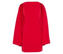Neely Kleid aus Crêpe mit Cape-effekt -