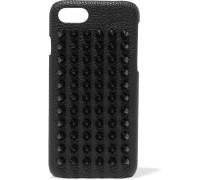 Loubiphone Iphone 7-hülle Aus Strukturiertem Leder Mit Nieten -