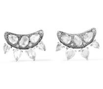 Collection Ohrringe Aus 18 Karat Weißgold Mit Diamanten -