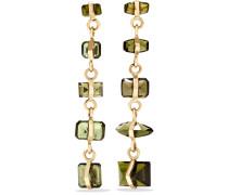 Ohrringe aus 14 Karat  mit Turmalinen