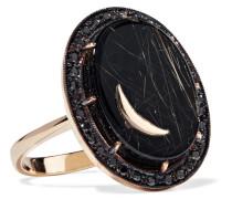 Ring Aus 14 Karat  Mit Mehreren Steinen