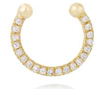 Thread Nasenring Aus 18 Karat Gold Mit Diamanten