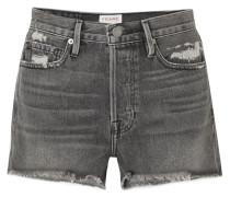 Rigid Re-release Le Original Jeansshorts In Distressed-optik -