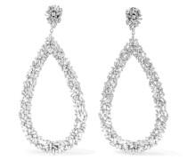 Ohrringe aus 18 karat Weiß mit Diamanten