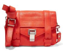 Ps1 Mini Leder-satchel - Knallorange