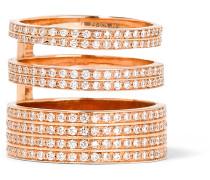 Berbère Module Ring Aus 18 Karat  Mit Diamanten