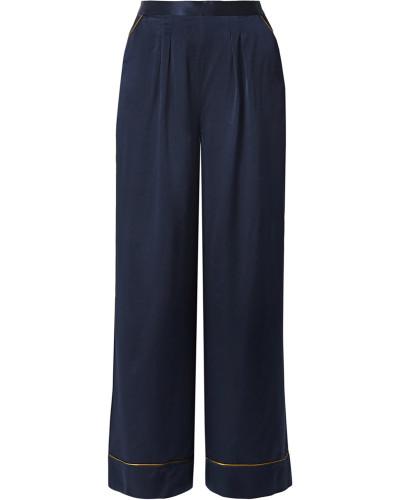 Boarding Pyjama-hose aus Seidensatin