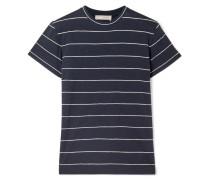 T-shirt aus Gestreiftem Pima-baumwoll-jersey