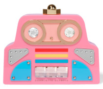 Cobot Verzierte Clutch Aus Perspex® - Pink