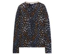 Sloane Kaschmirpullover Mit Leopardenprint -