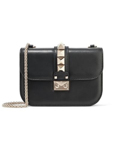 Bester Verkauf Verkauf Online Valentino Damen Lock Kleine Schultertasche aus Leder Qualität Outlet-Store 100% Authentisch Günstiger Preis Günstigsten Preis zYHQu49