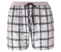 Paillettenbesetzte Shorts Aus Baumwolle -