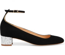 Evelyn Pumps aus Veloursleder