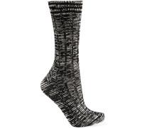 Socken aus einer melierten Wollmischung