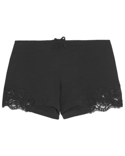 Souple Pyjama-shorts aus Jersey aus Stretch-baumwolle